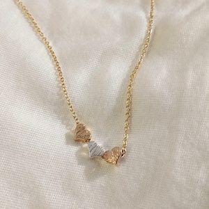 Necklace Three Hearts